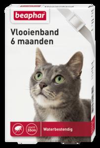 beaphar vlooienband kat
