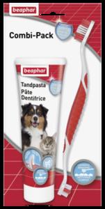 beaphar tandenborstel en tandpasta