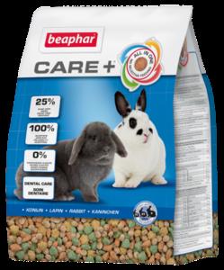 Beaphare Care+ Konijn 1,5kg + 2x gratis knabbelsticks