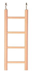 Ladder vogelkooi hout