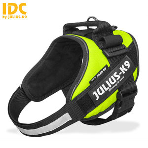 Julius k9 IDC Powertuig Neon Groen mini