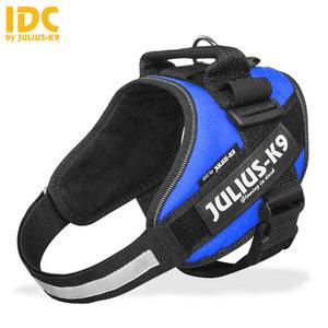 julius k9 idc powertuig blauw maat 4