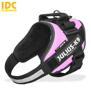 julius k9 idc powerharnass roze maat 4