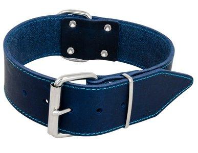 Jack en Vanilla halsband blauw breed