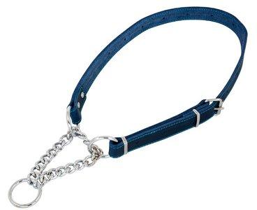 Jack en Vanilla correctiehalsband blauw