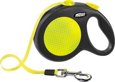 Flexi Classic Neon Tape 5 meter maat L