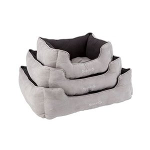 Scruffs classic box bed grey