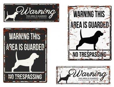 Waakbord beagle
