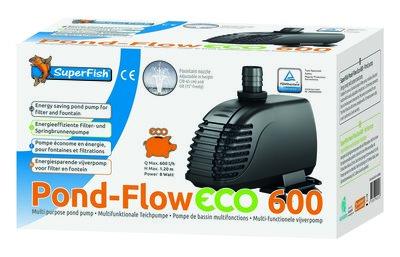 Superfish pond-flow eco 600 vijverpomp