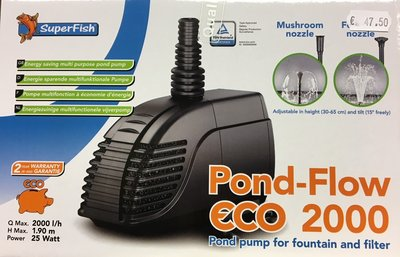 Superfish pondflow eco 2000