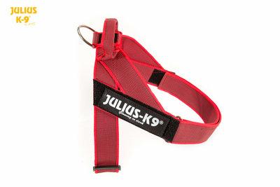 Julius K-9 riemtuig rood