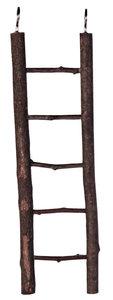 Houten ladder voor vogels