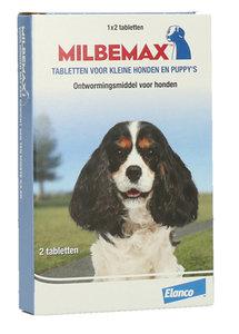 Milbemax ontworm tabletten puppy kleine hond