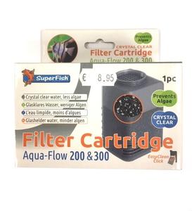 superfish aqua flow 200 300 crystal clear filter cartridge