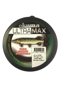 Okuma Ultramax Pike Snoek vislijn