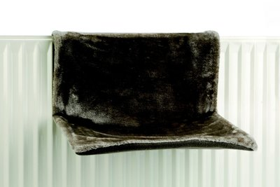 Radiatorhangmat grijs