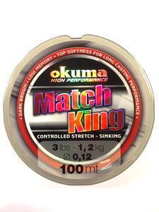 Okuma Match King Nylon Vislijn