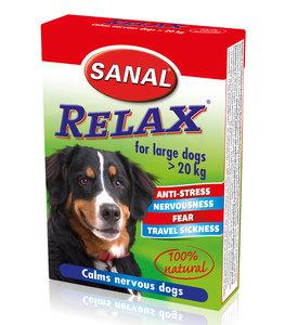 Sanal Relax grote hond kalmeringstabletten vuurwerk wagenziekte
