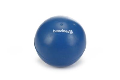 Beeztees rubber bal blauw