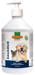 Biofood Zalmolie 500ml