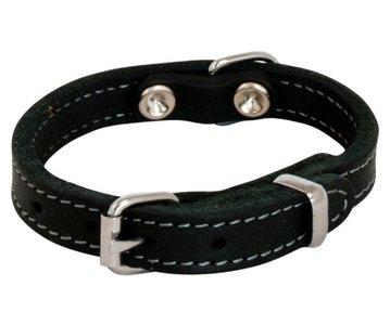 Jack en vanilla halsband zwart