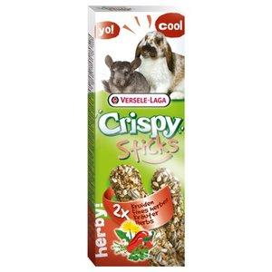 Crispy sticks chinchilla konijn kruiden 2 stuks