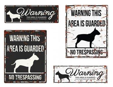 Engelse waakborden bull terrier