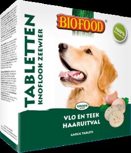 Biofood Zeewier Knoflook Tabletten