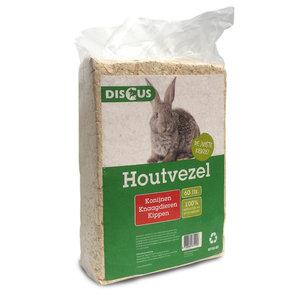 Discus Houtvezel 60 liter