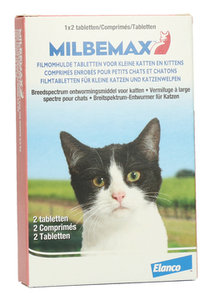 Milbemax Ontworm tabletten kitten