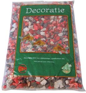 Grind rood wit zwart 900 gram