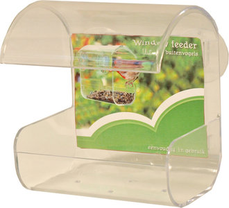 Window Feeder met zuignappen
