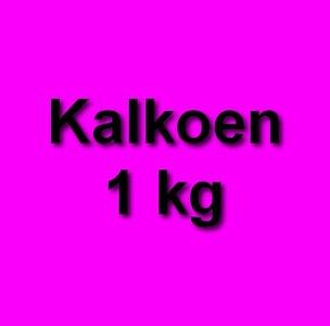 Honden eten gezond kalkoen 1 kg