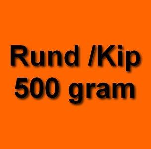 Honden eten gezond rund kip 500 gram