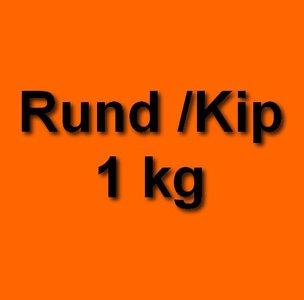 Honden eten gezond rund kip 1kg