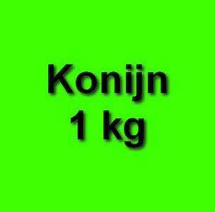 Honden eten gezond Konijn 1 kg