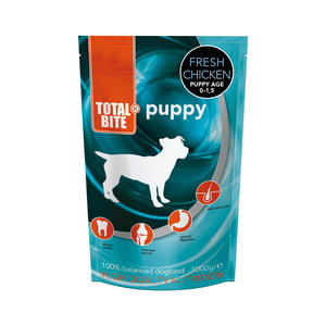 Total Bite fresh puppyvoer 1kg