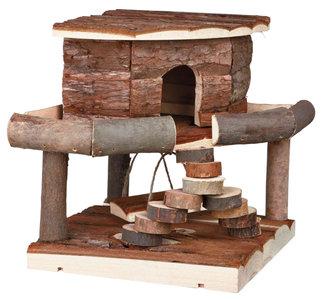 Houten Hamsterhuisje IDA