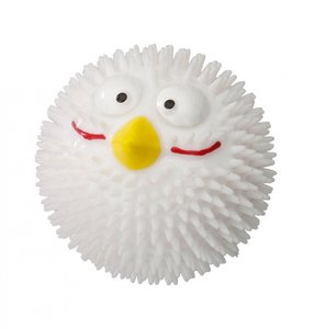 EBI Dog Toy Rubber Lucky Bird Vanilla Small