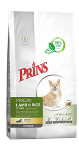 Procare croque lamb/rice senior 2 kg lam
