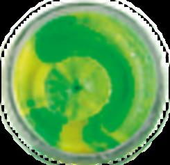 Berkley Powerbait foreldeeg flou groen geel pearl