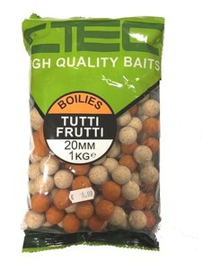 C-Tec Tutti Frutti Boilies 1kg 20mm