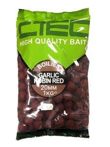 C-Tec Garlic Robin Red Boilies 1kg 20mm