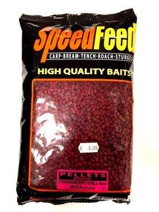 Spro Speedfeed Pellets Sinking Strawberry Krill 4mm
