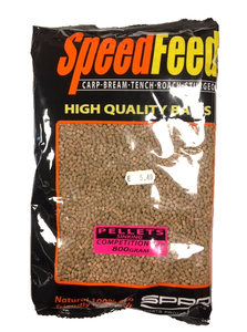 Spro Speedfeed Pellets Sinking Competition 800 gram 2mm