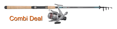 Spartan Trout spin 20 combi deal spartan 2000