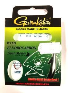 Gamakatsu Fluor carbon forel onderlijnen