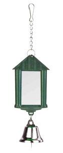 Vogelspiegel lantaarn met bel