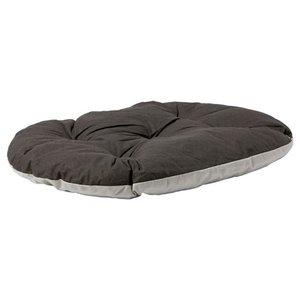 Adori Ovale hondenkussen relax antraciet grijs 100x83cm