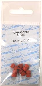 Toprubber middel